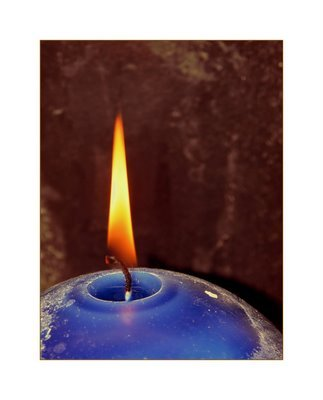 Candle blue3