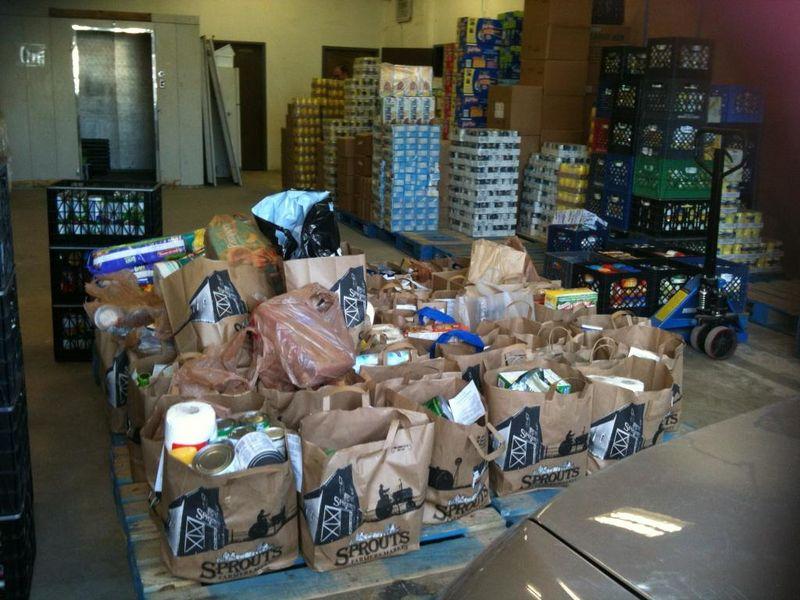 Task Force Food drive