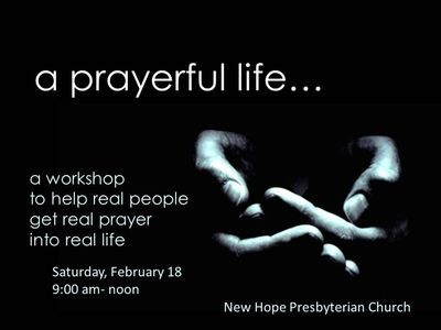 Prayerful Life Workshop