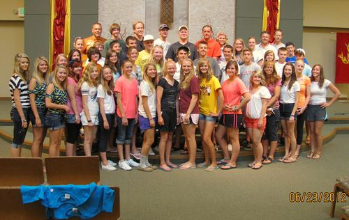 2012-0623; Mission Trip Group Pic