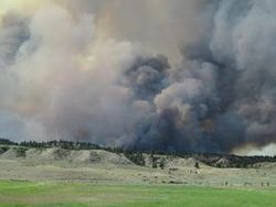 Northern Cheyenne Reservation Fire
