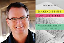 Adam Hamilton Photo and Making Sense of the Bible- cover