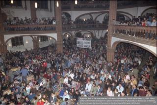 Gethseman Church in 1989 Prayer Vigil