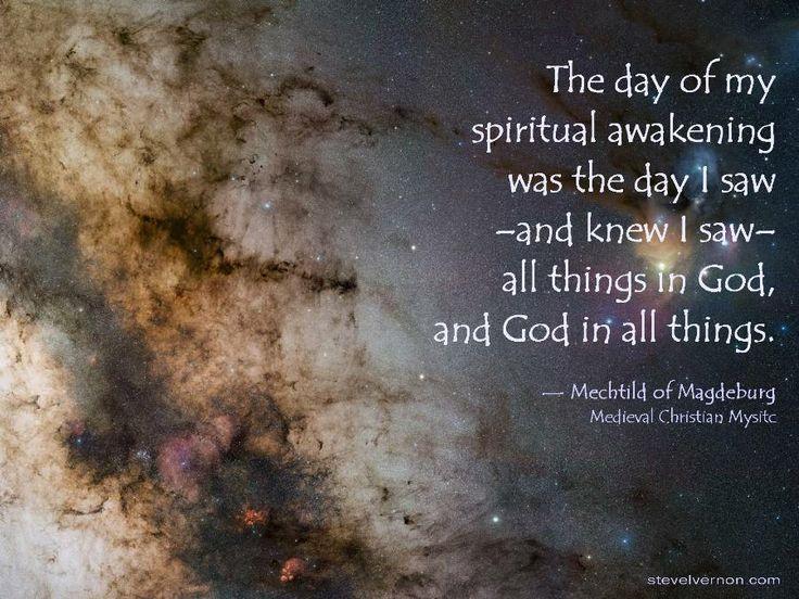 Mechtild; Spiritual Awakening