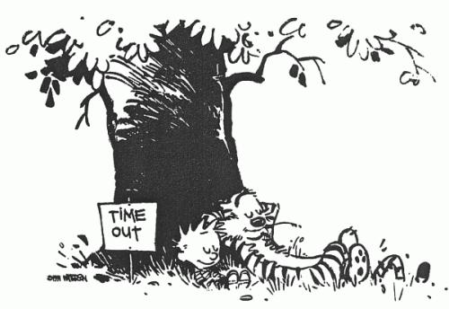 Calvin & Hobbes- Sabbatical