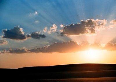 Desert sunrise2
