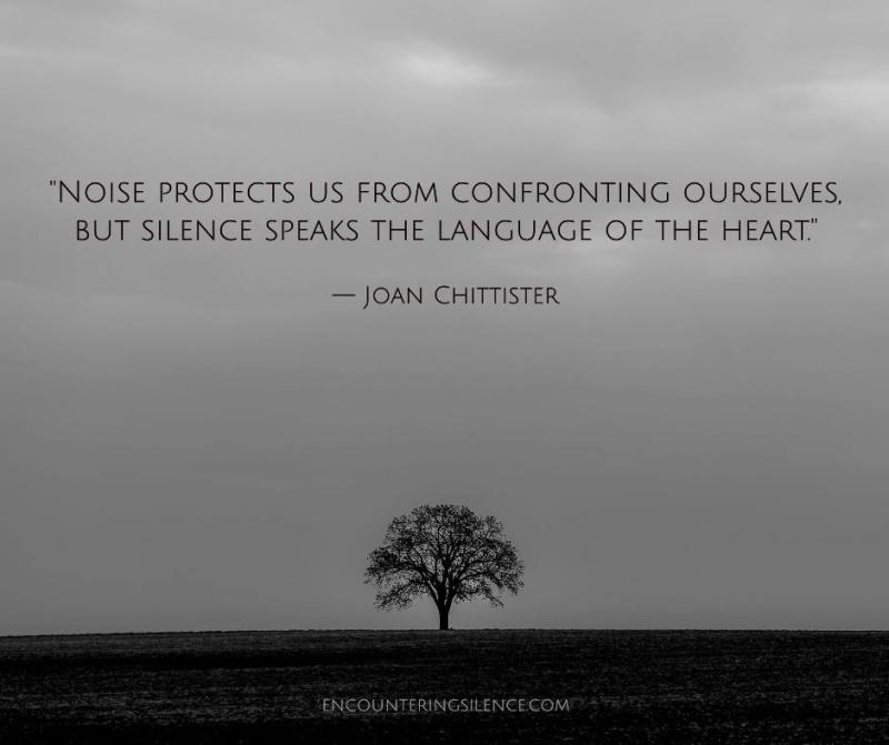 Chittester; Silence & Solitude