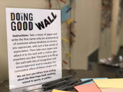 2019- Doing Good Wall