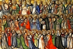 All Saints; Procession